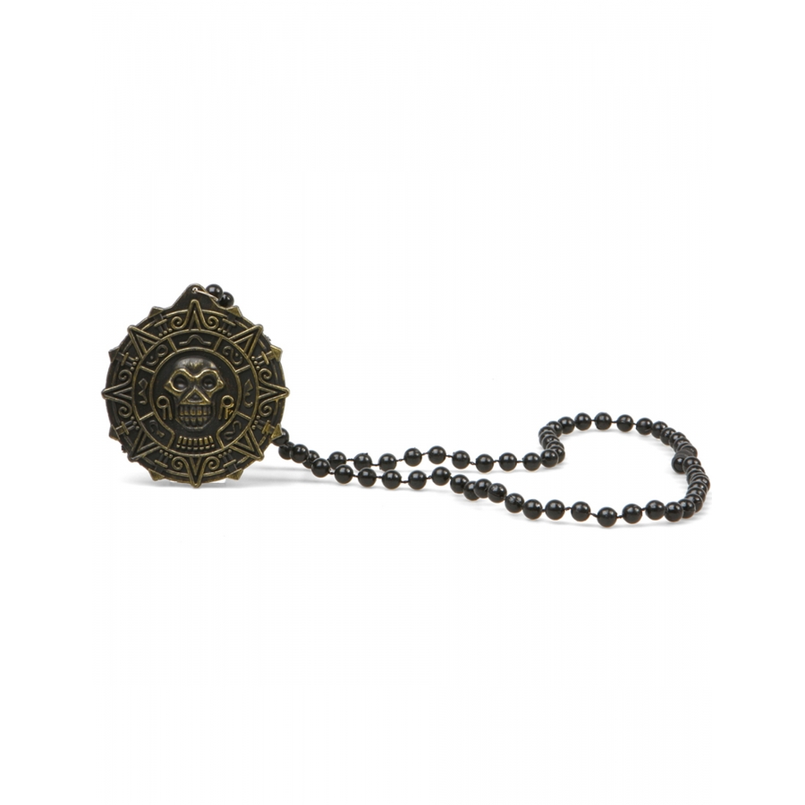 De Perles Collier Avec Pirate Pendentif Noires xBdorECQeW