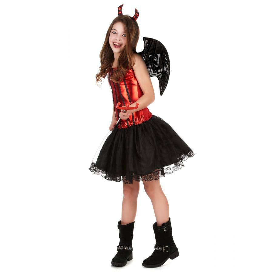 7b94bc3d9d31b1 Costume de petite diablesse avec jupe en tulle