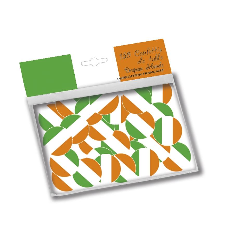 confettis de table drapeau irlandais. Black Bedroom Furniture Sets. Home Design Ideas
