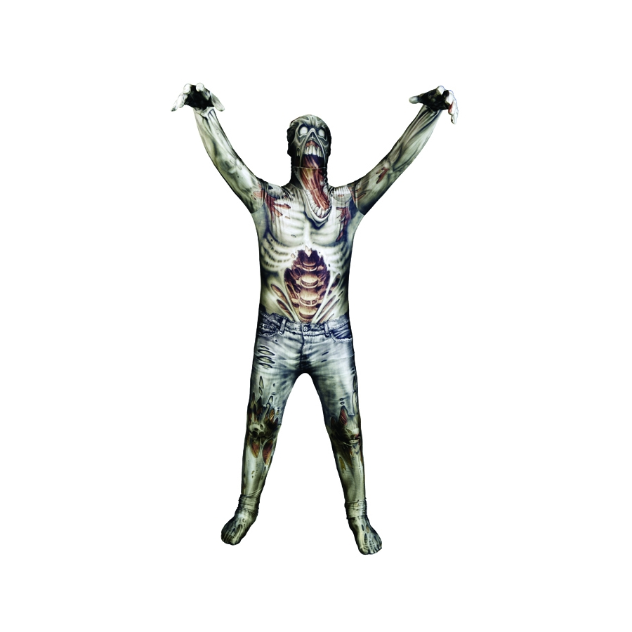costume enfant zombie seconde peau. Black Bedroom Furniture Sets. Home Design Ideas