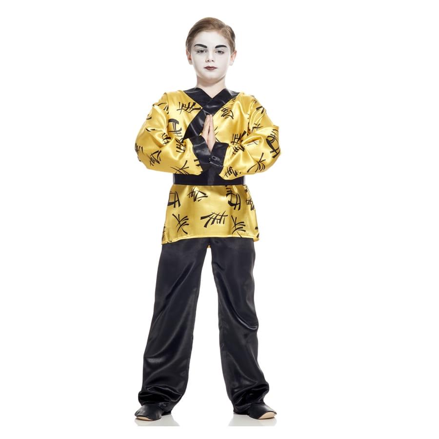 costume kimono dor de petit chinois