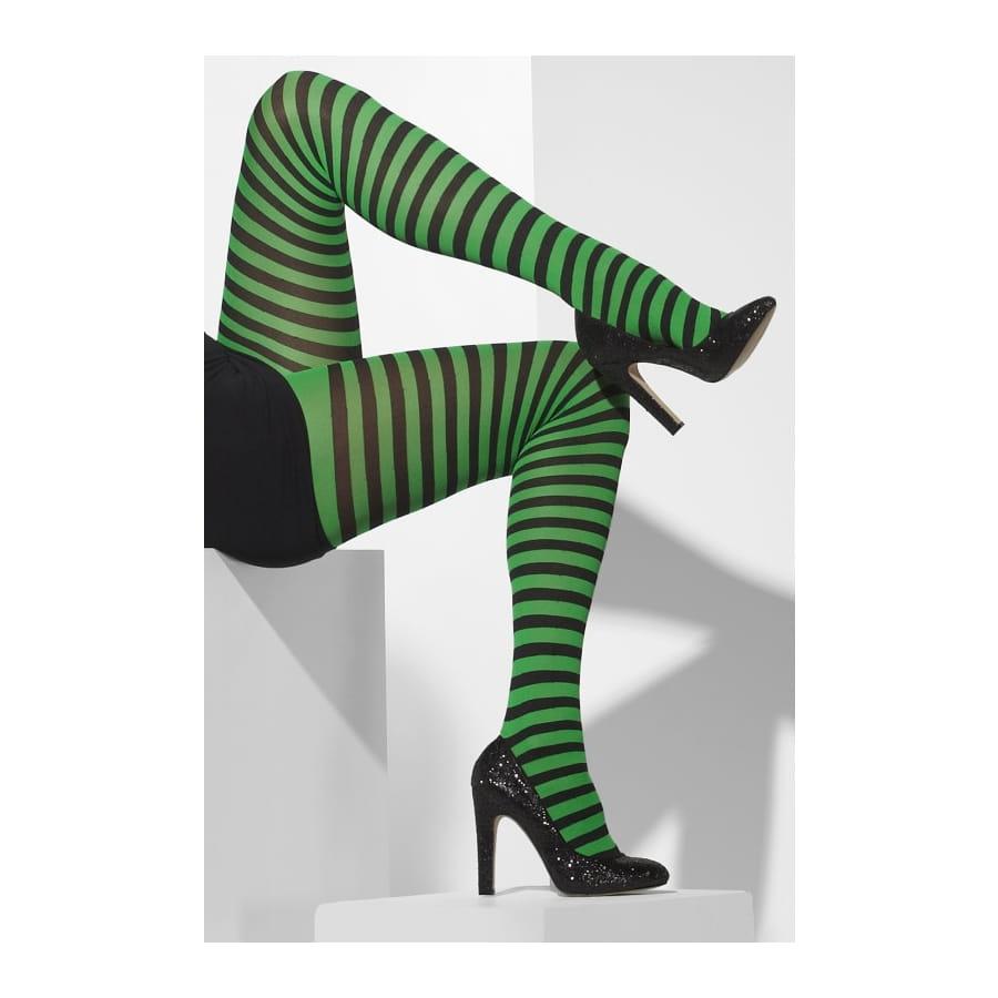 collants lign s opaques vert et noir. Black Bedroom Furniture Sets. Home Design Ideas