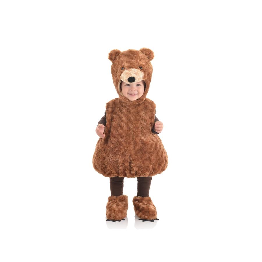 costume ours brun en peluche pour enfant. Black Bedroom Furniture Sets. Home Design Ideas