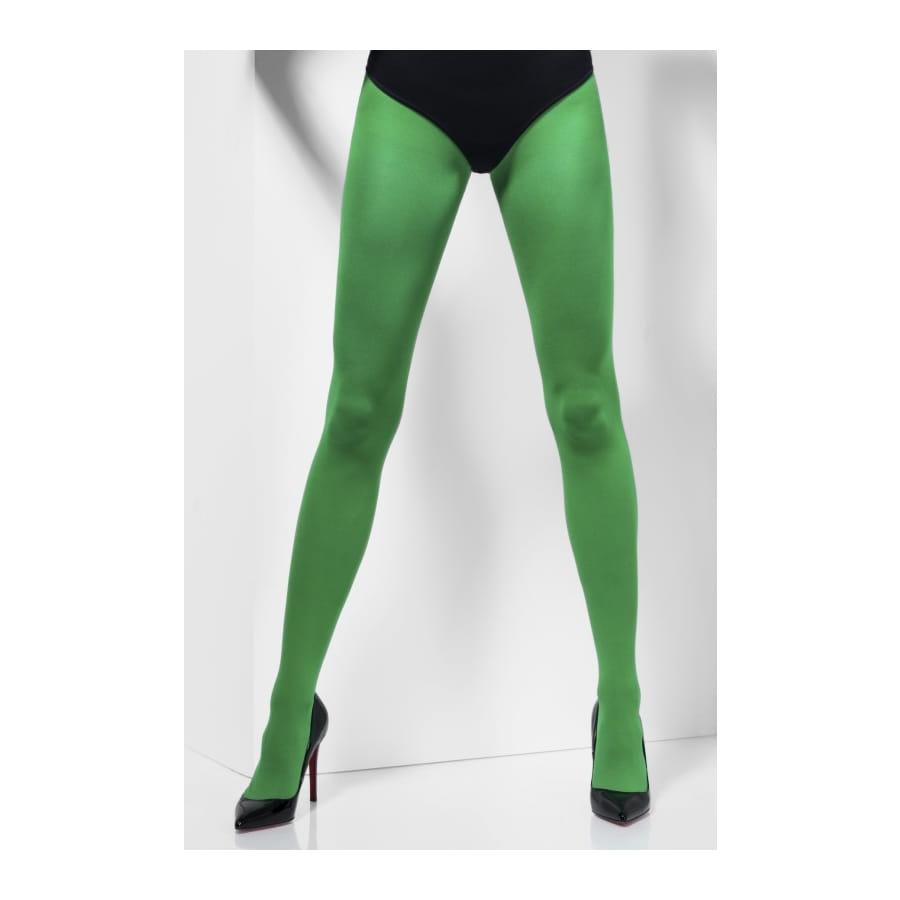 collant opaque vert. Black Bedroom Furniture Sets. Home Design Ideas