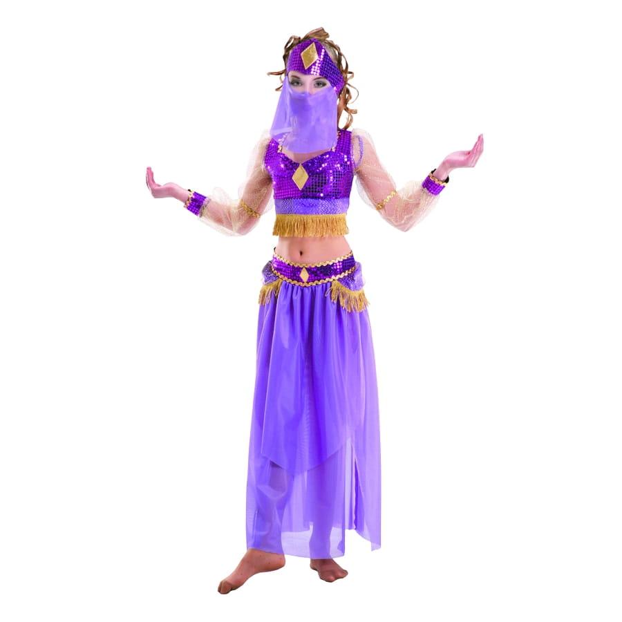 costume petite danseuse du ventre violette. Black Bedroom Furniture Sets. Home Design Ideas