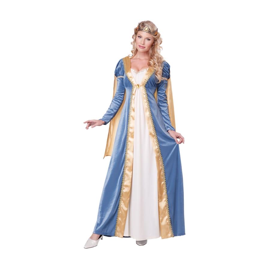 Costume reine de conte de f e pour femme - Robe reine des glaces ...