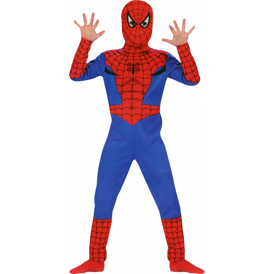 Costume spiderman licence for Halloween kostuum action