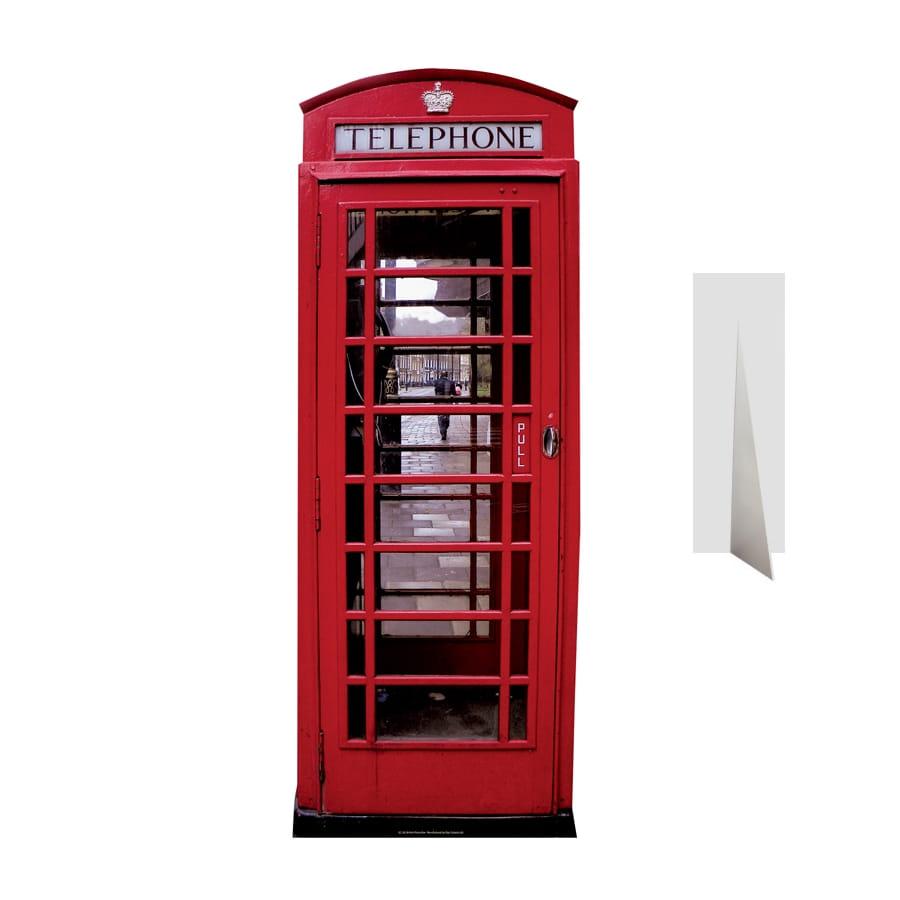 Cabine t l phonique anglaise en carton plat - Cabine telephonique anglaise a vendre ...