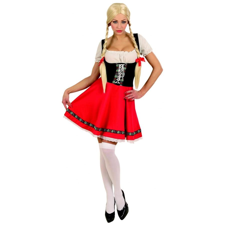 Costume traditionnel suisse pour femme