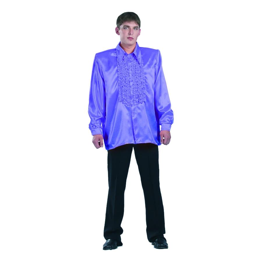 chemise violet super ruche homme. Black Bedroom Furniture Sets. Home Design Ideas
