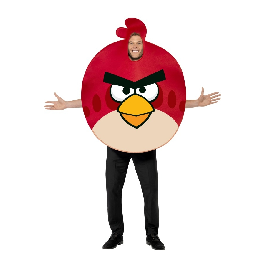 D guisement angry birds rouge - Angry birds rouge ...