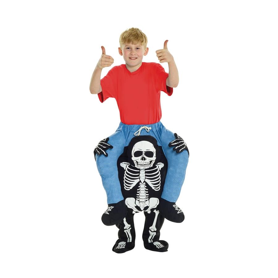 d guisement dos de squelette pour enfant. Black Bedroom Furniture Sets. Home Design Ideas