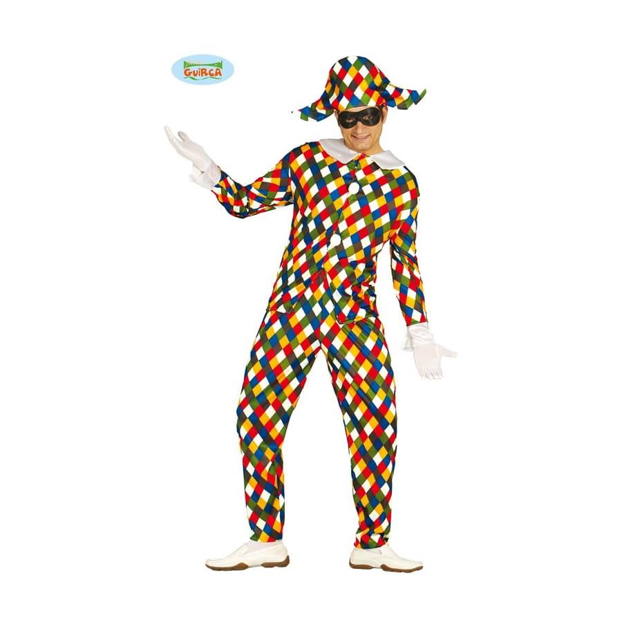 Homme Déguisement Déguisement Homme Pour Pour Arlequin Arlequin Multicolore Multicolore mnw8vN0