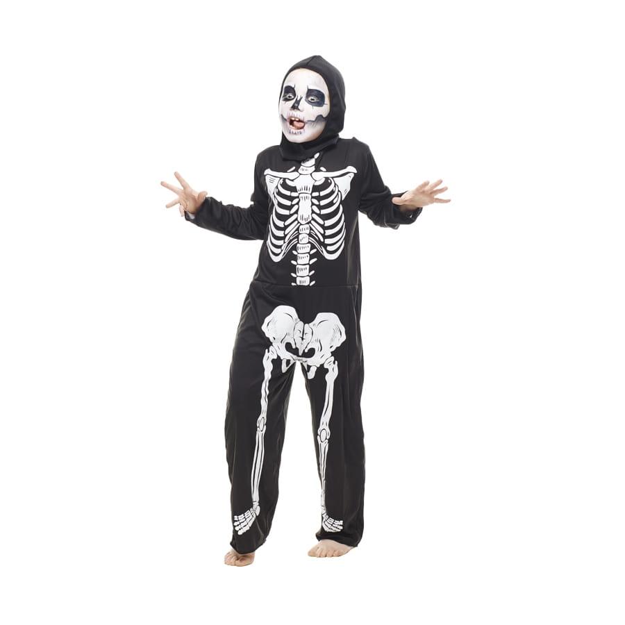 d guisement combinaison de squelette pour enfant. Black Bedroom Furniture Sets. Home Design Ideas