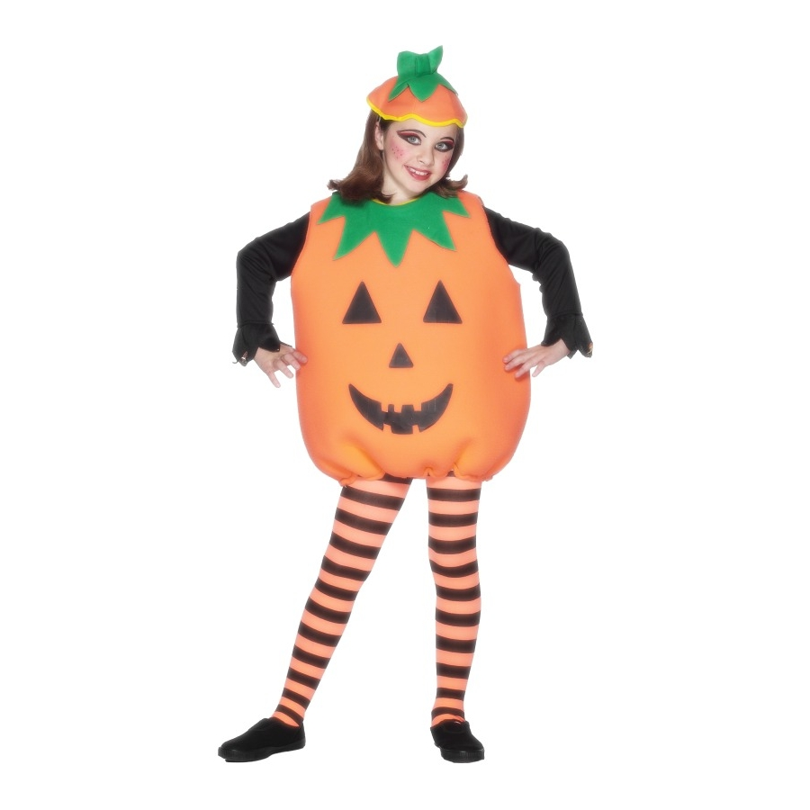D guisement citrouille enfant orange - Deguisement de citrouille ...