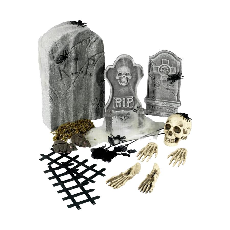 d coration cimeti re halloween. Black Bedroom Furniture Sets. Home Design Ideas