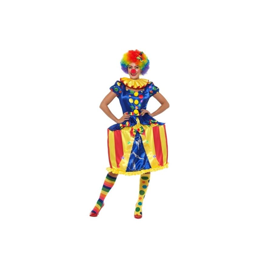 Déguisement Lumineux De Pour Clown Femme Carousel OkXuTPZi