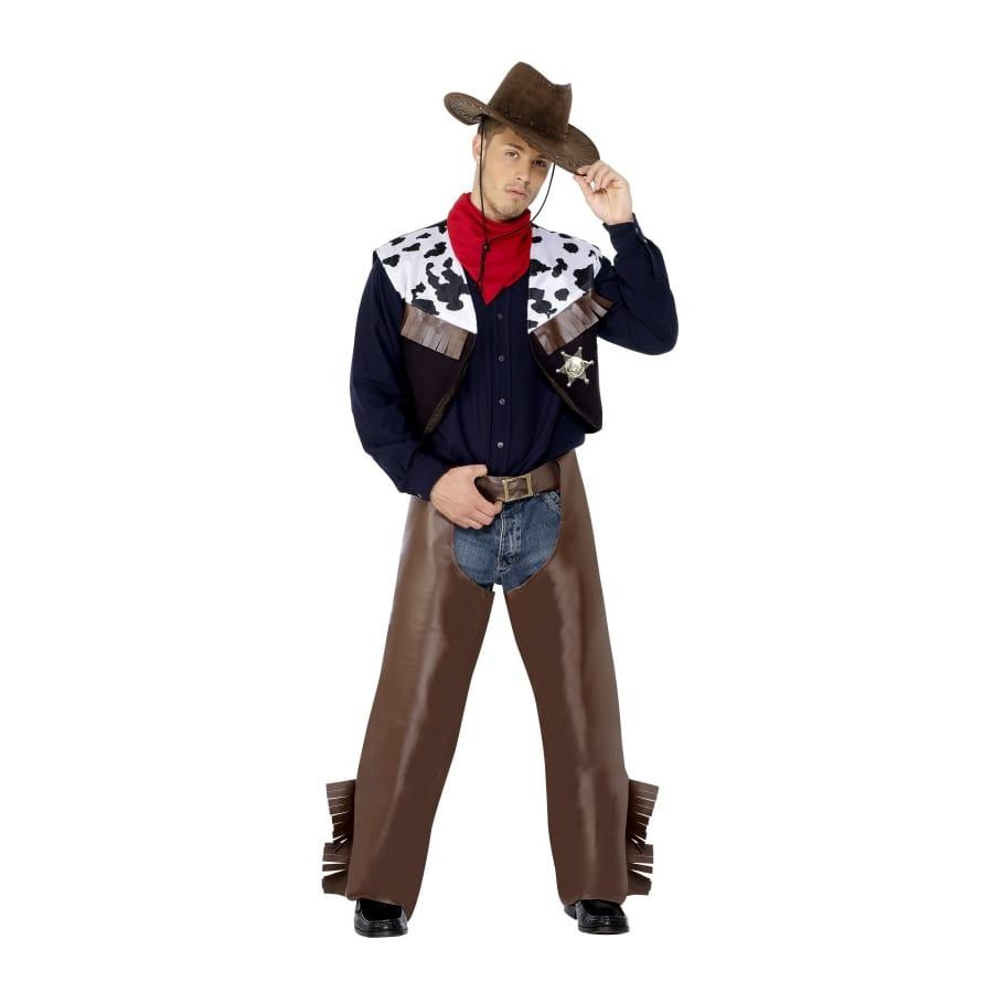 D guisement cowbow vache western homme - Deguisement western homme ...