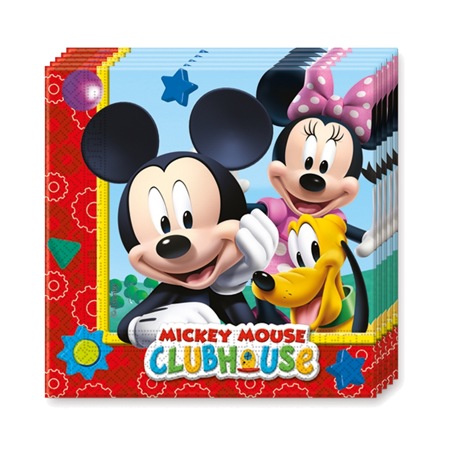 D corations d 39 anniversaire mickey clubhouse for Deco mickey