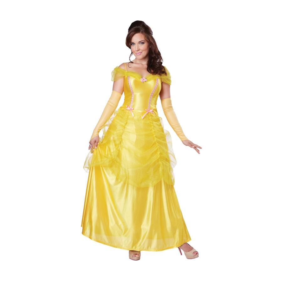 D guisement de belle pour adulte - Robe disney adulte ...