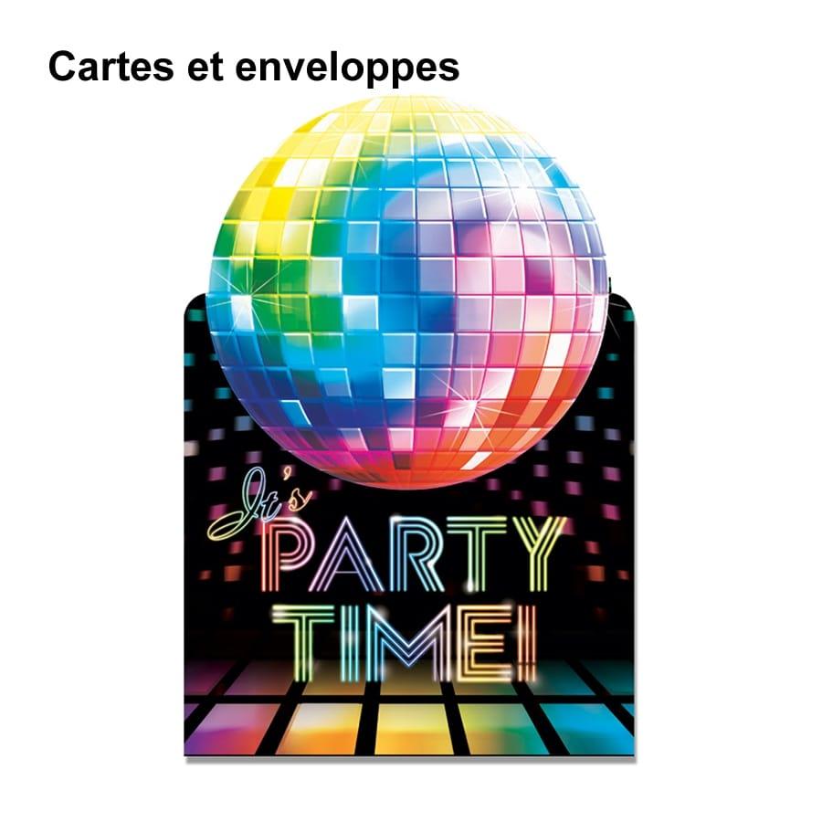 D corations disco de table pour anniversaire for Deco annee 70 pour anniversaire