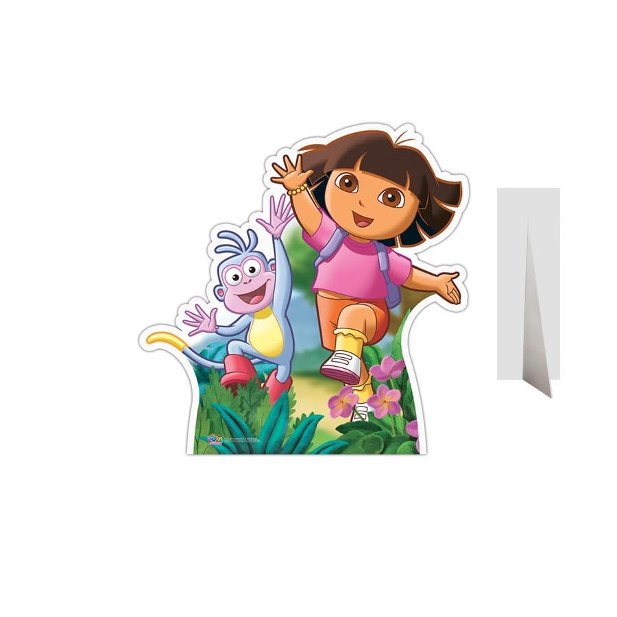 dcor dora et babouche en carton plat - Dora Babouche