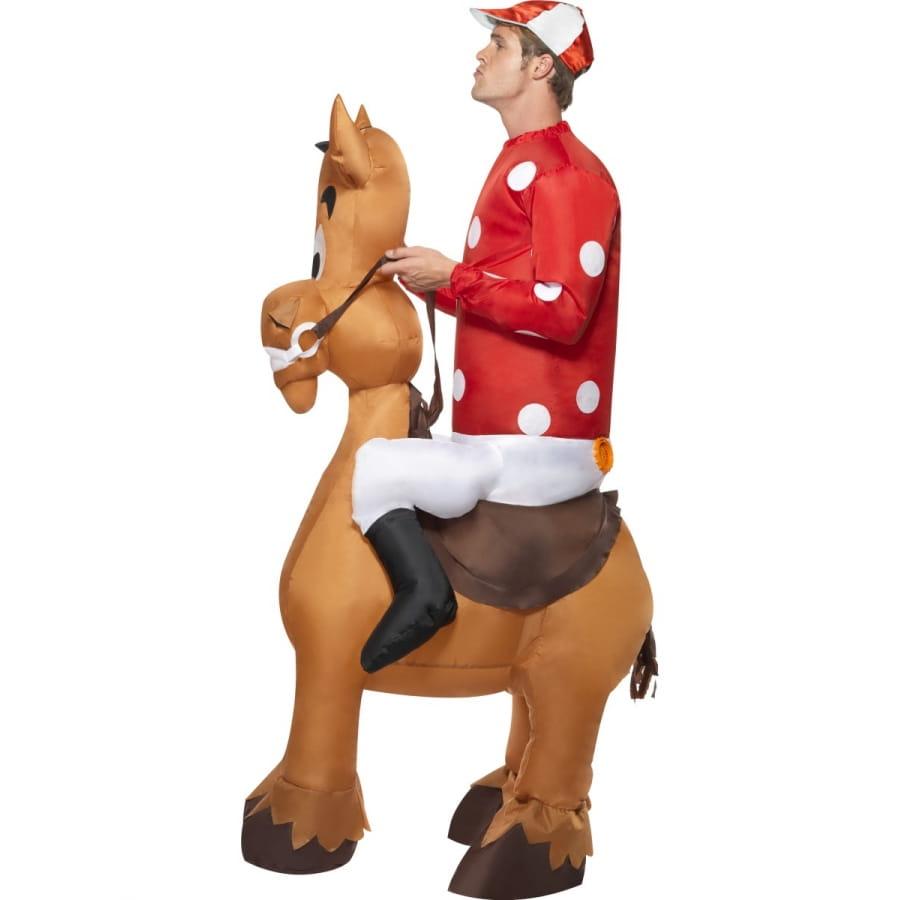 Deguisement de jockey avec cheval