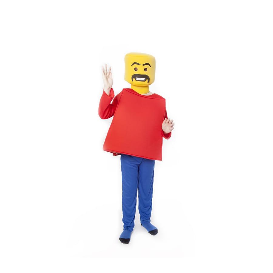 D guisement de l go pour enfant - Deguisement tete de lego ...