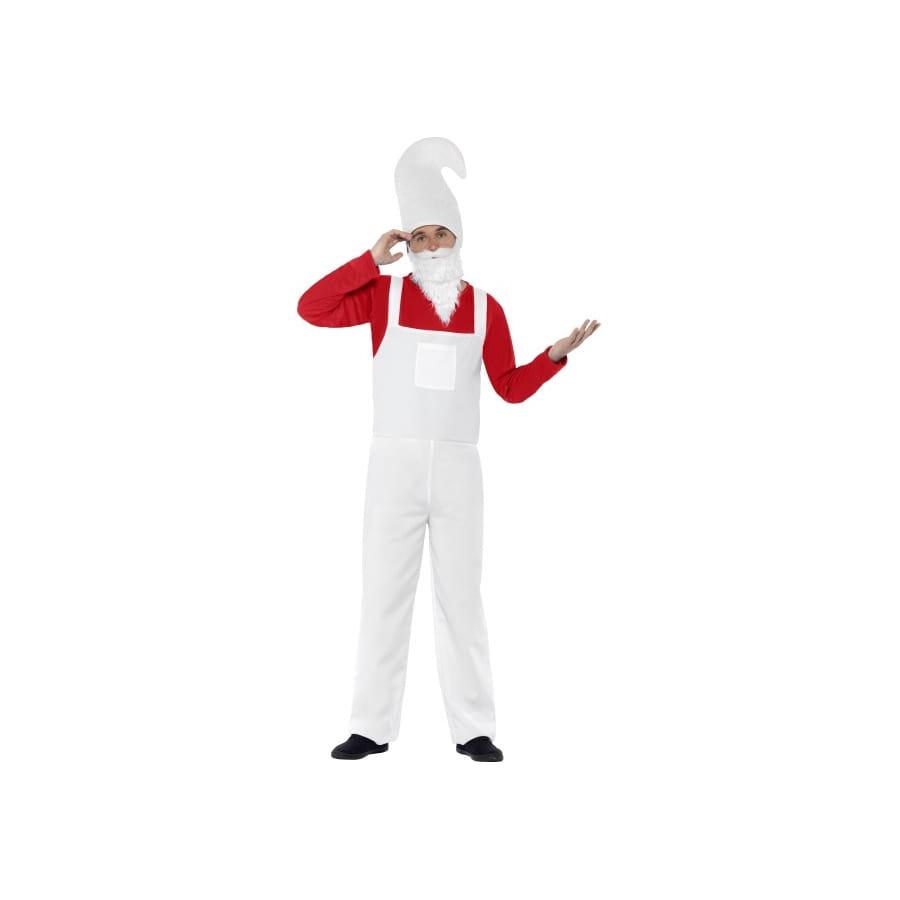 D guisement de nain de jardin rouge pour homme for Costume nain de jardin