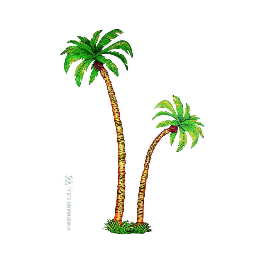 Decor de palmier en carton - Image palmier ...