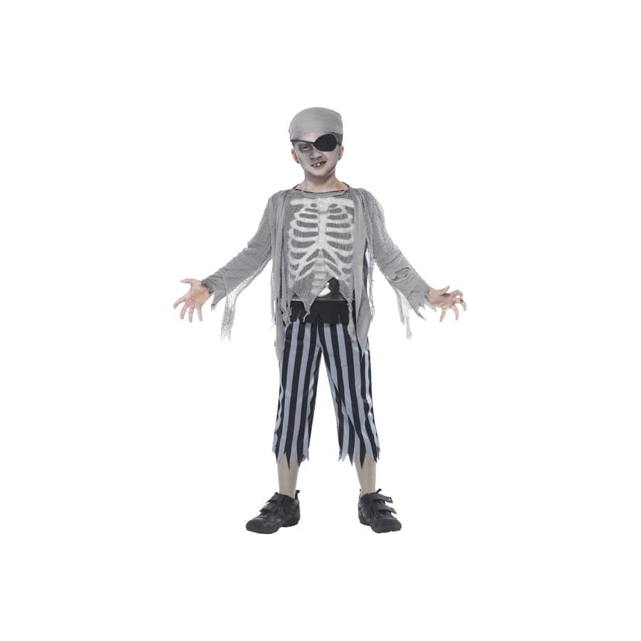 D guisement de pirate fant me enfant - Pirate fantome ...