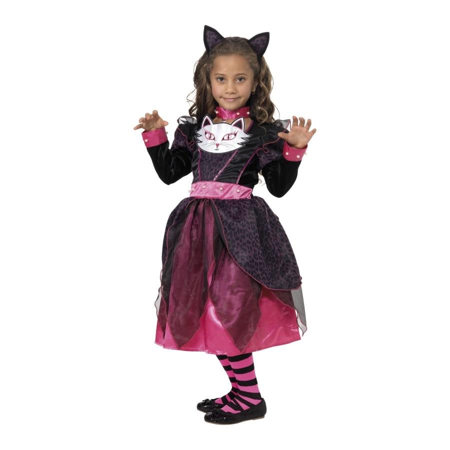 D guisement de princesse chat pour petite fille - Deguisement petite fille ...