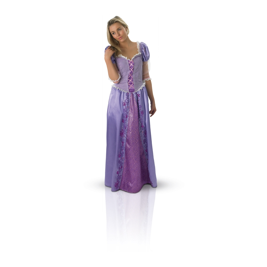 D guisement de princesse raiponce adulte - Robe disney adulte ...