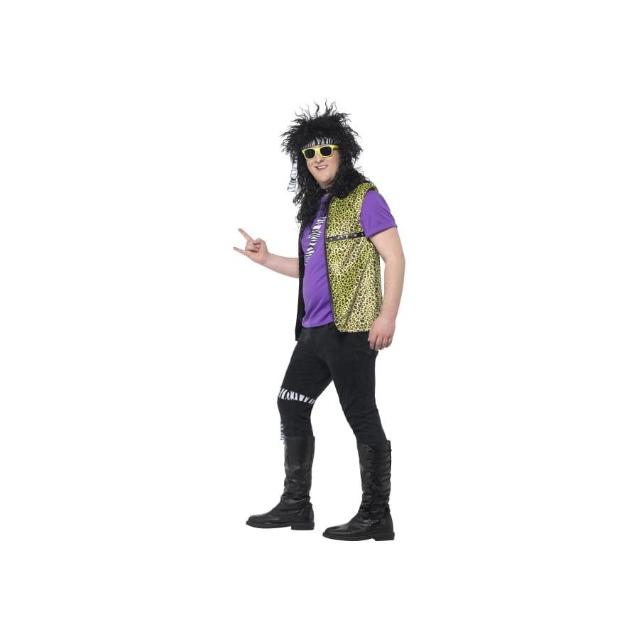 Déguisement de rock star années 80 grande taille, image 1