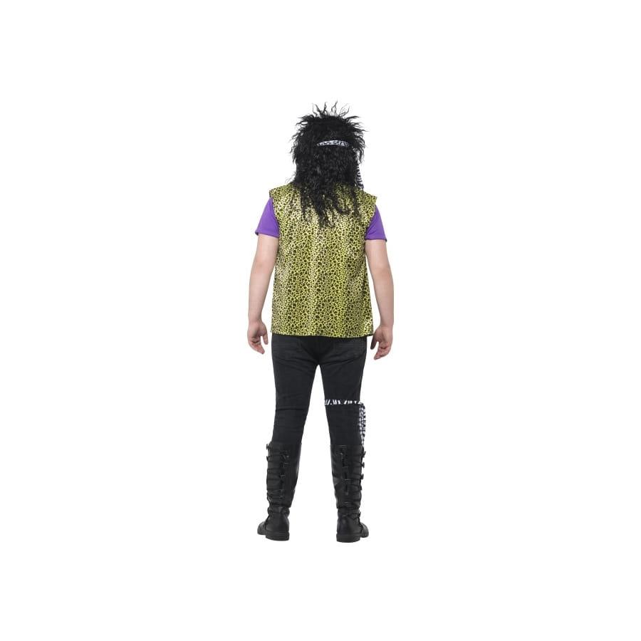 Déguisement de rock star années 80 grande taille, image 2