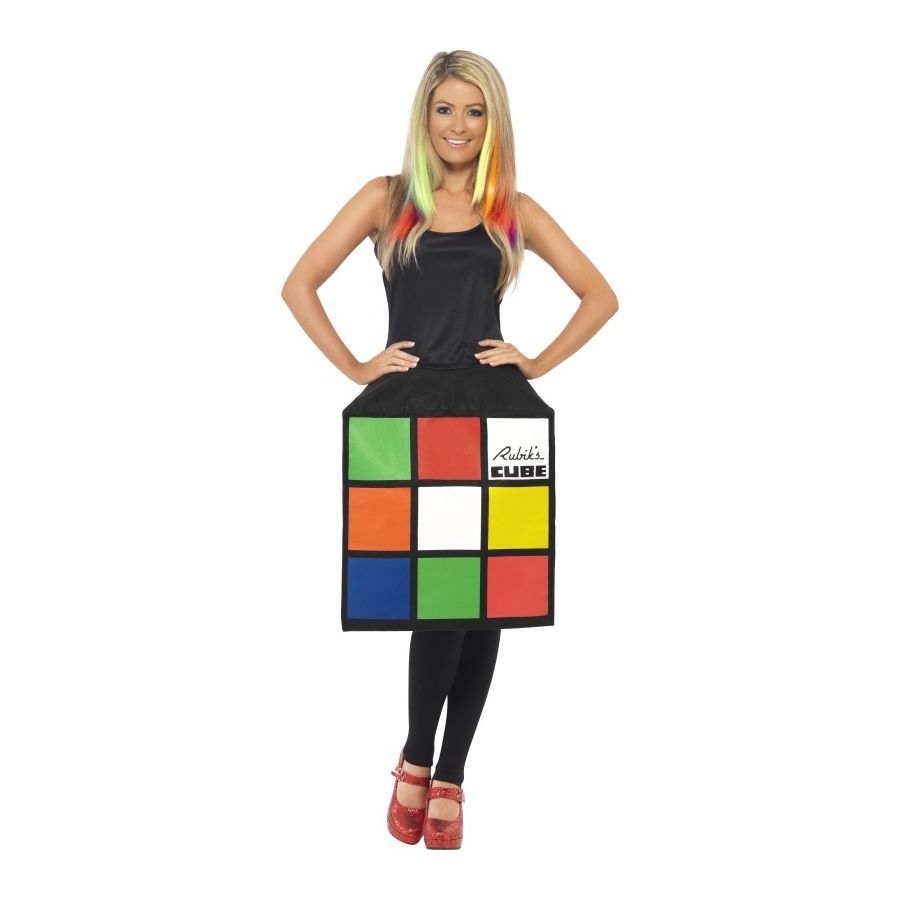 d guisement de rubiks cube pour femme. Black Bedroom Furniture Sets. Home Design Ideas