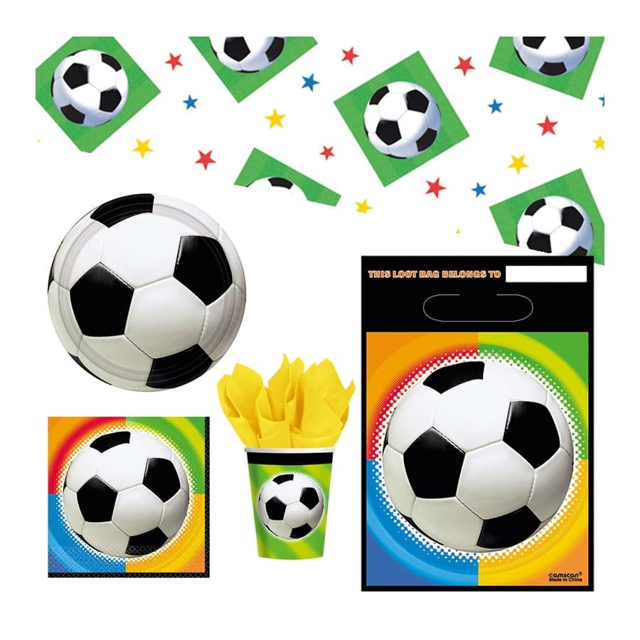 D corations foot anniversaire - Decoration football pour anniversaire ...