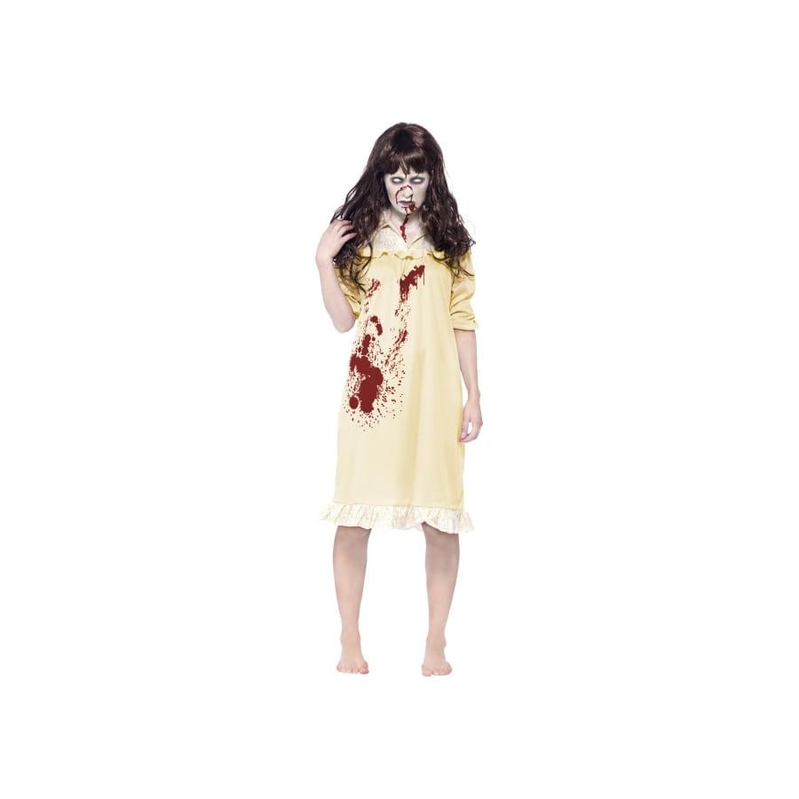 d guisement femme zombie en robe de nuit. Black Bedroom Furniture Sets. Home Design Ideas