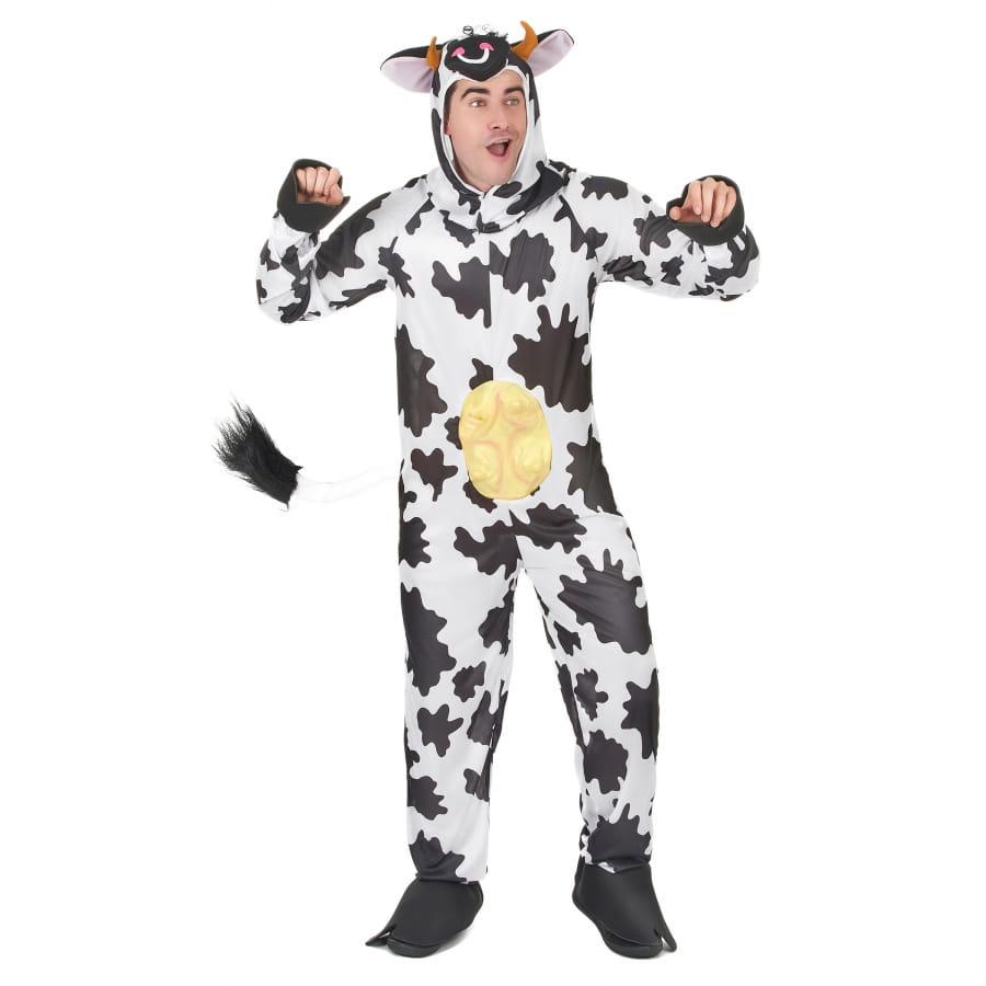 8ba31c632ac9a Déguisement humoristique de vache pour adulte