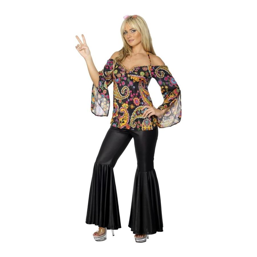 D guisement hippie femme ann es 70 - Deguisement femme annee 70 ...