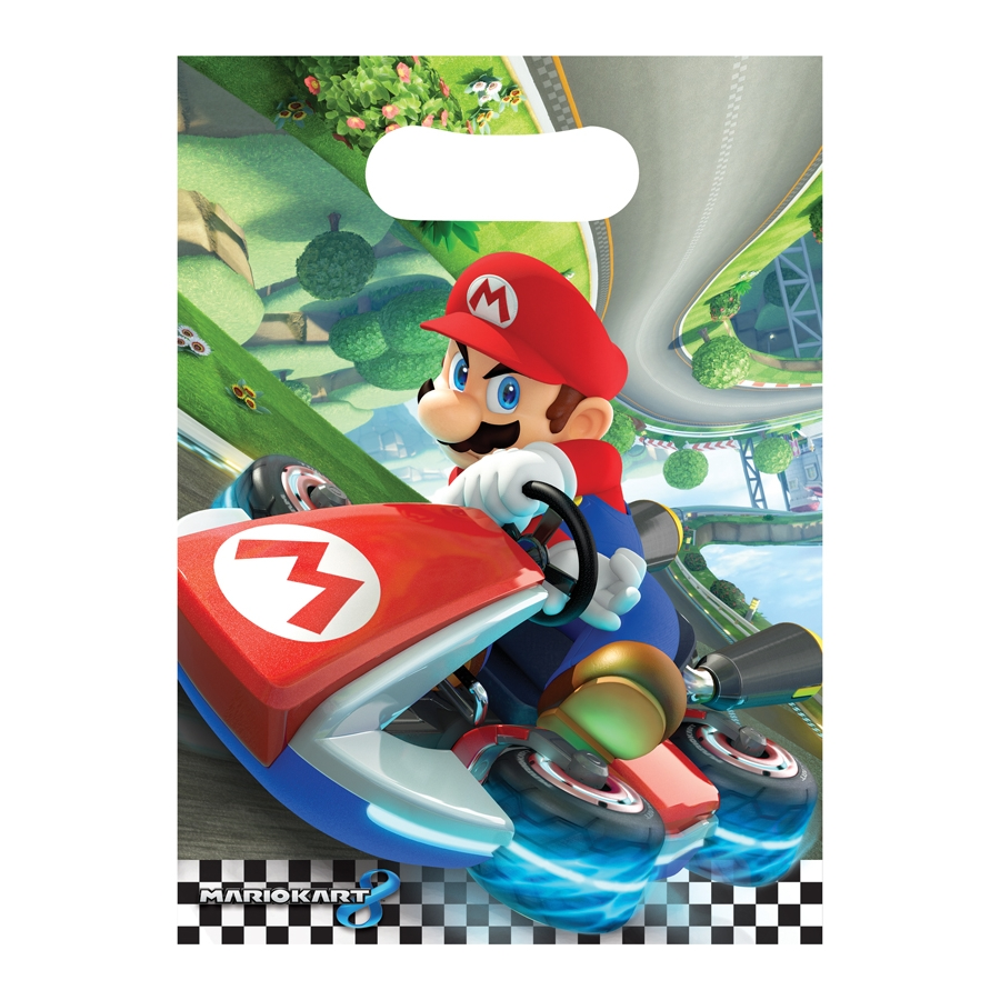 d corations mario kart d 39 anniversaire. Black Bedroom Furniture Sets. Home Design Ideas