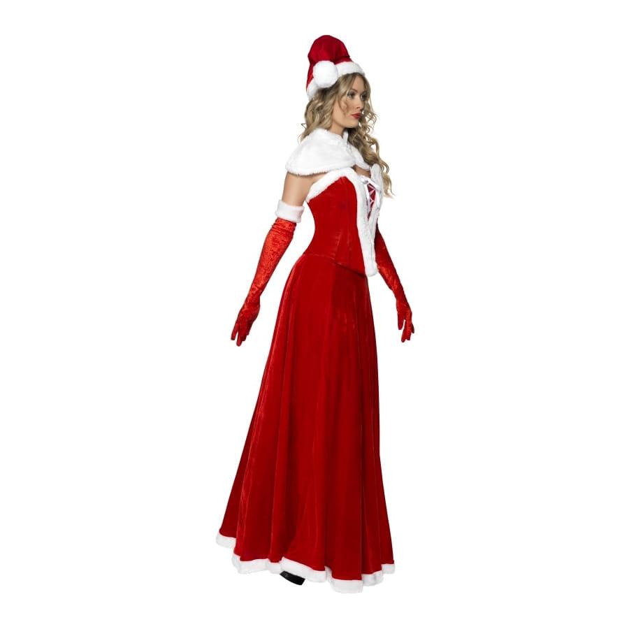 Long déguisement de mère Noël