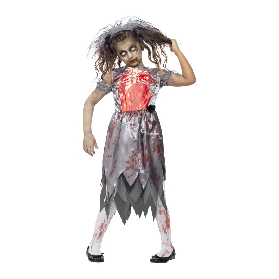 deguisement petite fille zombie