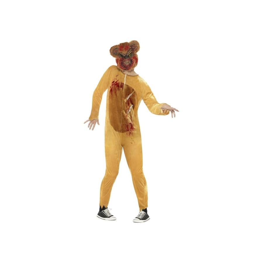 Costume d'ours en peluche adulte