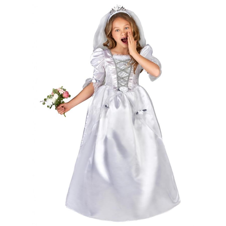 ac8dfeb157986 Déguisement robe de mariée pour petite fille