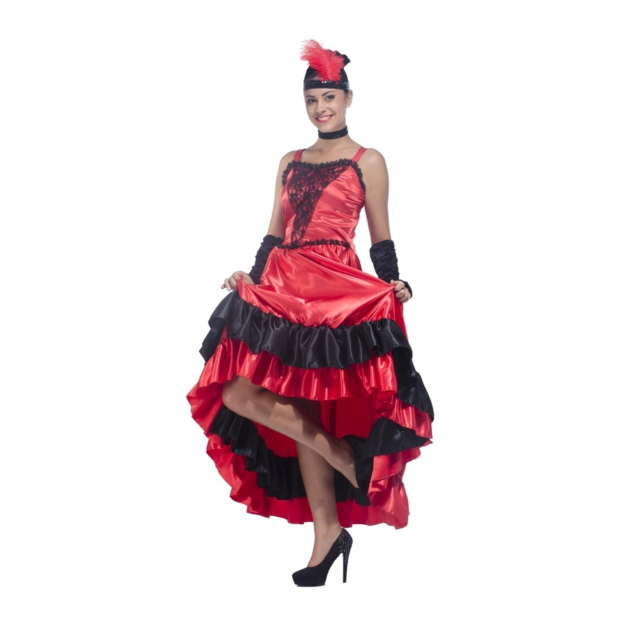 Robe rouge moulin rouge