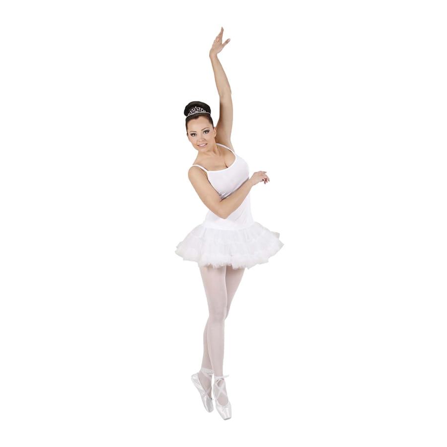D 233 Guisement Robe Tutu Blanc De Danseuse
