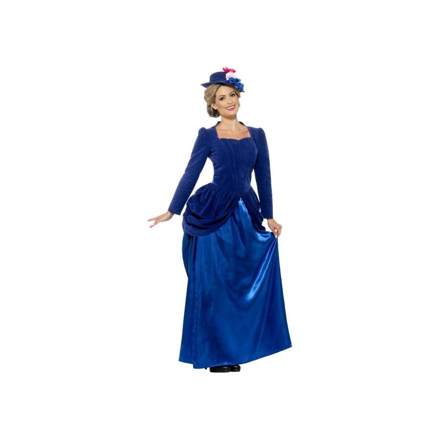 Deguisement Robe Victorienne Bleue