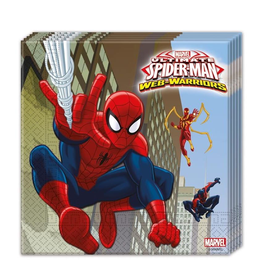 D corations spiderman web warriors d 39 anniversaire - Decoration spiderman pour anniversaire ...