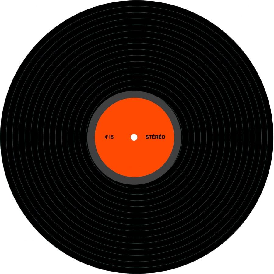 disque vinyl de d co